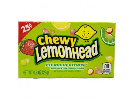 Chewy Lemonhead Fiercely Citrus 23g USA