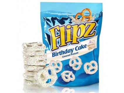 Flipz Birthday Cake Covered Pretzels 141g UK