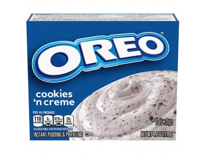 Oreo Cookies n Creme Instant Pudding Pie Filling 119g USA