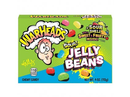 Warheads Sour Jelly Beans 113g USA