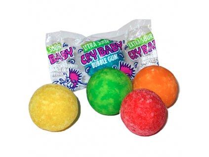 Cry Baby Bubble Gum Kyselé Žvýkačky 1ks 5g CAN