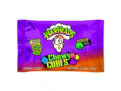 Warheads Chewy Cubes 70g USA