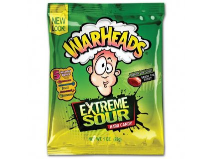Warheads Extreme Sour Hard Candy 28g USA