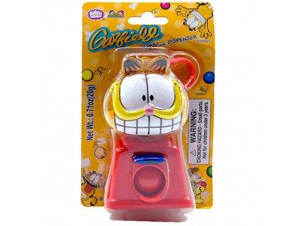 Garfield Gumball Dispenser Červený 20g CHN