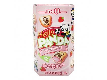 Meiji Hello Panda Strawberry 60g USA