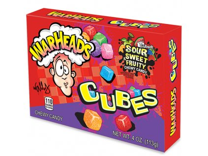 Warheads Cubes Chewy Candy 113g USA