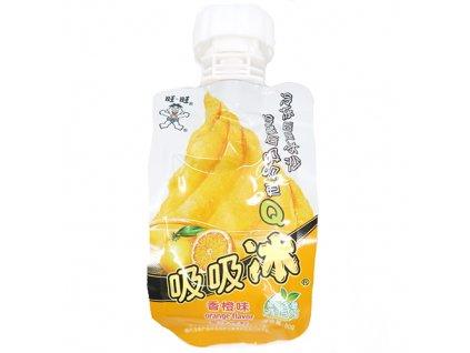 Want Want Ice Bar Orange Instantní Zmrzlina 80g CHN