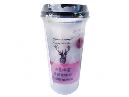 Solid Drink Strawberry Bubble Tea 120g TWN