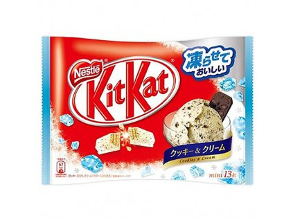 KitKat Mini Cookies Cream Balení 150.8g JAP