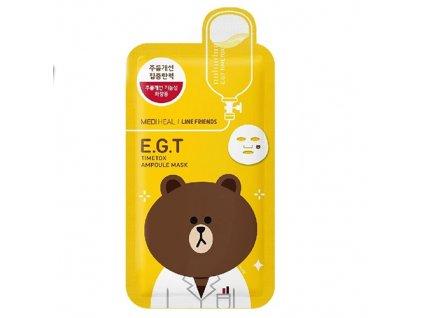 MEDIHEAL E.G.T Timetox Ampoule Sheet Mask 27gml KOR