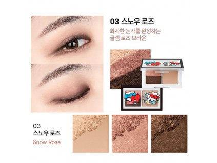 BT21 Art In Multi Eye Shadow #03 Snow Rose 31g KOR