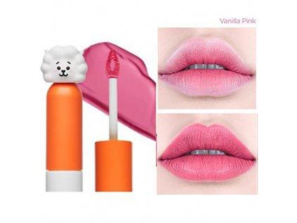BT21 Lip Lacquer Cream #02 Vanilla Pink 26g KOR