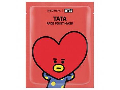 MEDIHEAL BT21 Face Point TATA Sheet Mask 1ks 26g KOR