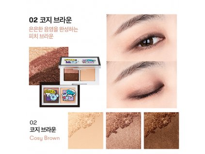 BT21 Art In Multi Eye Shadow #02 Cosy Brown 31g KOR