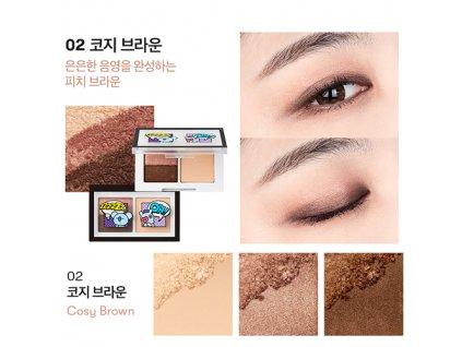 BT21 Art In Multi Eye Shadow #02 Cosy Brown 31g KOR