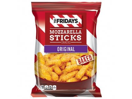 TGI Fridays Mozzarella Sticks Original Baked 99.2g USA