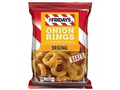 TGI Fridays Onion Rings Original Baked 78g USA