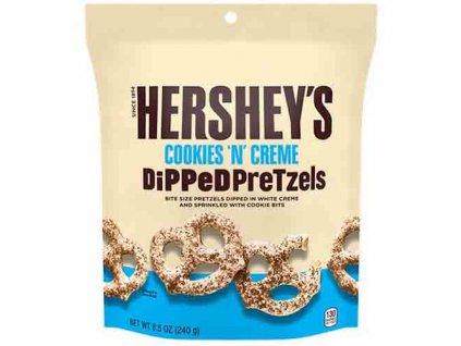 Hershey's Cookies 'n' Creme Dipped Pretzels 240g USA