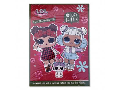 Nickelodeon Adventní Kalendář L.O.L. 65g EU