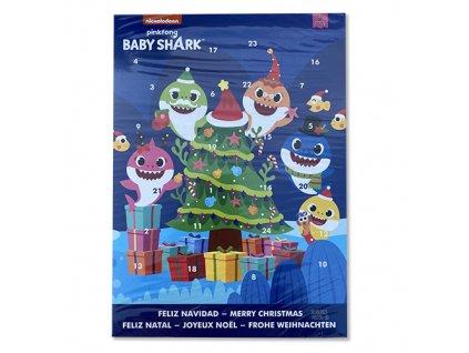 Nickelodeon Adventní Kalendář Pinkfong Baby Shark 65g EU