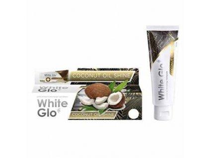 WHITE GLO Zubní pasta Coconut Oil Shine 24g AUS