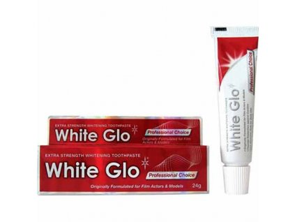 WHITE GLO Bělící Zubní Pasta Professional Choice 24g AUS