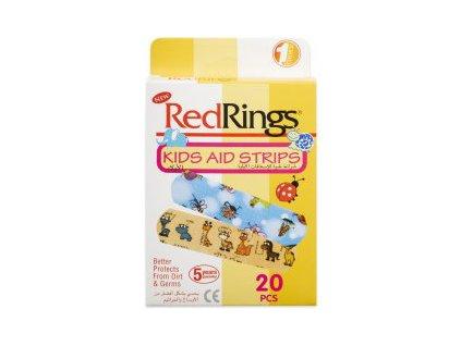 RED RINGS Dětské Náplasti 20ks TUR