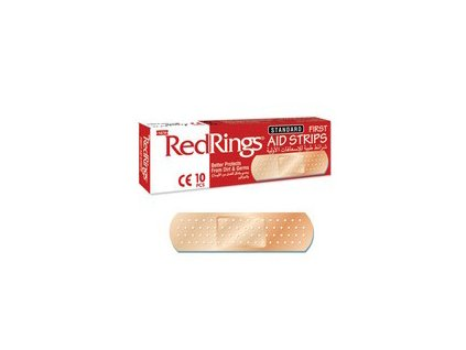 RED RINGS Náplasti Různé Velikosti 10ks TUR