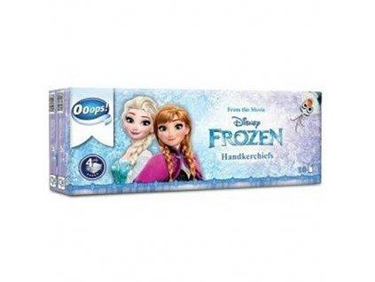 Frozen Papírové Kapesníčky Čtyřvrstvé 10ks HUN