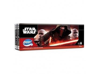 Star Wars Papírové Kapesníčky Čtyřvrstvé 10ks HUN