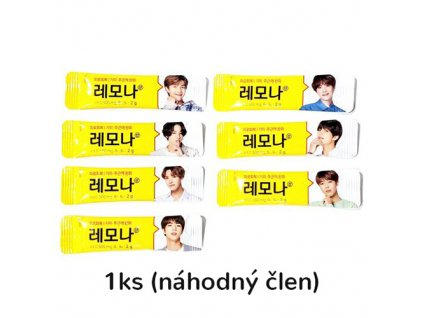 LEMONA Vitamin Powder BTS Special Edition Náhodní Členové 1ks 2g KOR