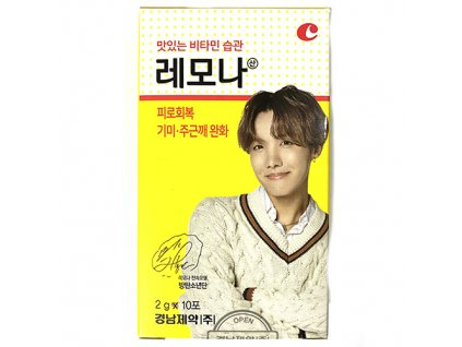 LEMONA Vitamin Powder BTS Member #1 J Hope (10x2g) KOR