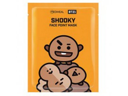 Mediheal BT21 Face Point Shooky Sheet Mask 1KS 26G KOR