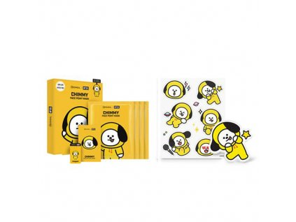 Mediheal BT21 Face Point Chimmy Sheet Mask Balení (4x26g) KOR