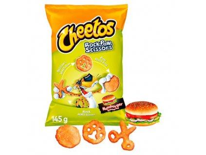 Cheetos Rock Paw Scissors Hamburger Flavor 145g POL
