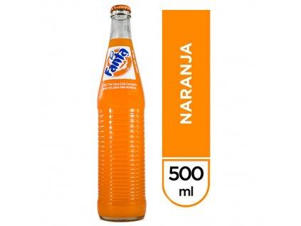 Fanta Pomeranč Skleněná Láhev 500ml MEX