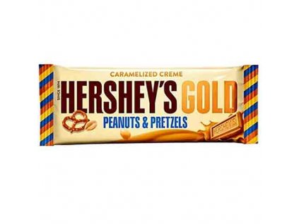 Hershey's Gold Peanut and Pretzels 39g USA
