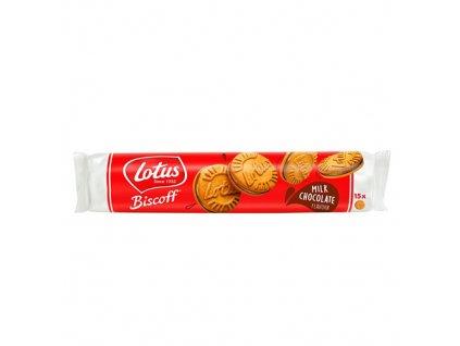 Lotus Biscoff Sušenky Mléčná Čokoláda 150g BEL