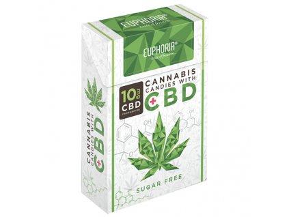 Euphoria Cannabis CBD Bonbóny 30g EU