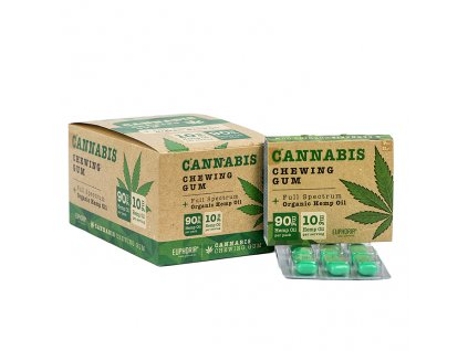 Euphoria Cannabis Chewing Gum 21g EU