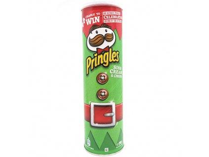 Pringles Sour Cream & Onion Vánoční Edice 200g EU