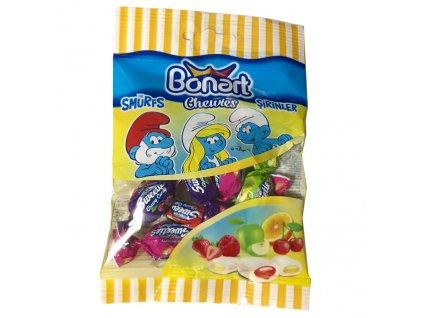 Bonart Šmoulové Žvýkací Bonbony Ovocné 40g TUR