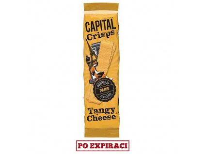 Capital Crisps Paris Bramborové Lupínky Tangy Cheese 75g UK