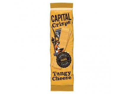 Capital Crisps Bramborové Lupínky Tangy Cheese 75g UK