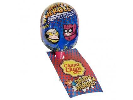 Chupa Chups Lízátko S Překvapením Grippy Heroes 12g EU
