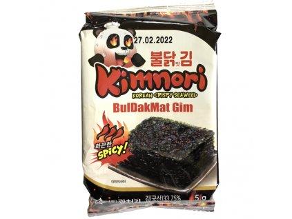 Kimnori Korejské Křupavé Mořské Řasy BulDakMat Gim 4g KOR
