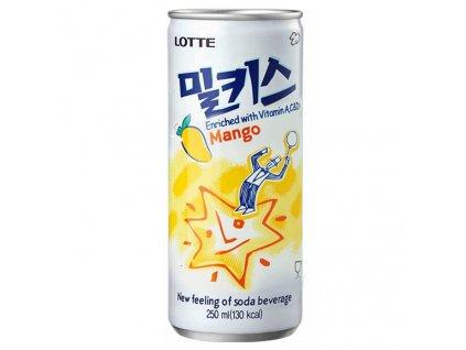 Lotte Milkis Mléčná Sodovka Mango 250ml KOR