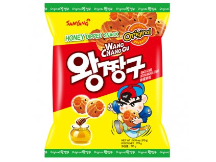 Samyang Honey Dipped Snack Křupky 115g KOR