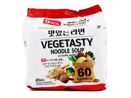 Samyang Vegetasty Noodle Soup Balení 575g (5x115g) KOR