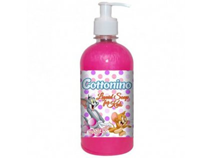 Cottonino Tom Jerry Tekuté Mýdlo Bubble Gum 500ml EU